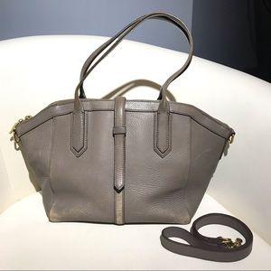 J. Crew leather handbag